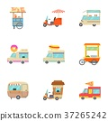 food truck icons 37265242