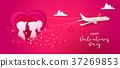 valentine, vector, day 37269853