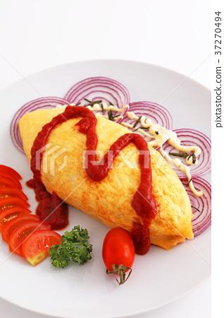 它看起來很美味的煎蛋捲飯 37270494