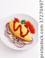 它看起來很美味的煎蛋捲飯 37270497