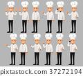 大厨 主厨 卡通 37272194