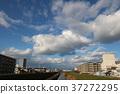 แม่น้ำ,เมฆ,ทัศนียภาพ 37272295