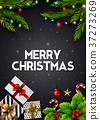 greeting christmas card 37273269