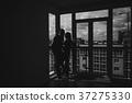 couple, silhouette, black 37275330