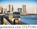 monorail, tokyo, vehicle 37275385