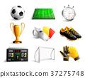 soccer set icons 37275748