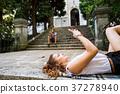 relaxed sitting swipe 37278940