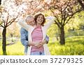 beautiful, senior, couple 37279325