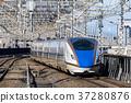 bullet train, shinkansen, electric train 37280876