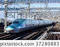 bullet train, shinkansen, train 37280883