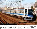 西武6000系列列車快車到元町/唐人街 37282824