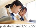 교육, 태블릿, 공부 37285727