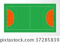 Handball court 37285839