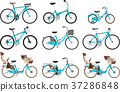bicycle, bike, carriage 37286848