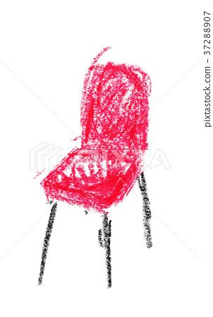 의자 일러스트레이션 37288907