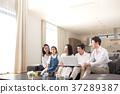ภาพวาดมือ ครอบครัว,ครอบครัว,ความเป็นพ่อแม่ 37289387