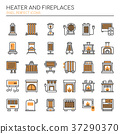 Heater and Fireplaces  37290370