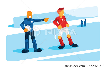 coach training player before substitution 37292048