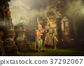 Thailand The art culture of Ramayana story 37292067