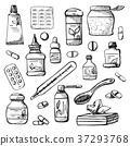Drugs isolated on white background. 37293768