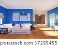 Modern living room interior with furniture  37295455