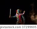 Khon Kumbhakarna giant soldier of Ramakien 37299605