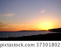 日落 海 大海 37301802