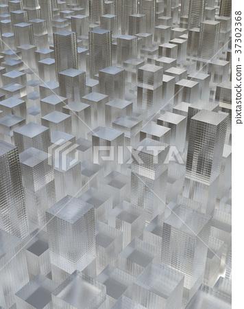 玻璃大廈的背景圖像 37302368