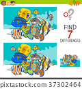 find differences with fish animal characters 37302464