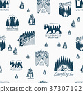 pattern, seamless, vector 37307192