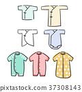 675dc8a3ad593 婴儿衣服内衣-图库插图 23907707  - PIXTA
