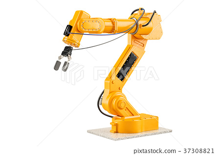 Robotic Arm, 3D rendering - Stock Illustration [37308821] - PIXTA