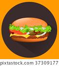 汉堡 奶酪 芝士 37309177