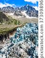 Argentiere Glacier view, Chamonix, Mont Blanc  37309896