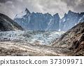Argentiere Glacier view, Chamonix, Mont Blanc  37309971