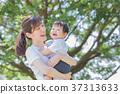 日本的母亲和男孩 37313633