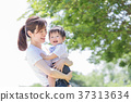 Japanese mother and boy 37313634