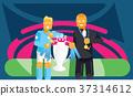 足球 團隊 獎品 37314612