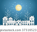 Design Christmas greeting card and Happy new year  37316523