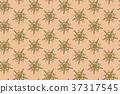 東方特色花紋向量圖背景(禪繞圖zentangle) 37317545