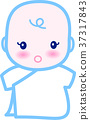 baby, infant, vector 37317843