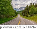 Highway in Grand Teton National Park 37318267
