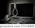 과로 자살 목을 매 자살 자살 SOS 줄 로프 압력 과로 37318805