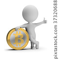 3d small people - bitcoin 37320688