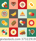 breakfast food vector 37322919