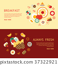 breakfast food vector 37322921
