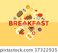 breakfast food vector 37322935