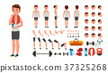 Fitness Man Vector. Animated Athlete Character 37325268