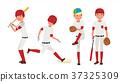 vector, action, baseball 37325309