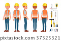 vector electrician worker 37325321